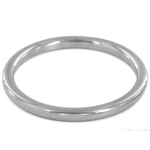 Steel Cock Ring - 10 Sizes