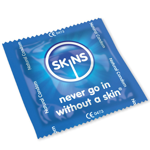 Skins Natural Condoms 500 Bulk Pack