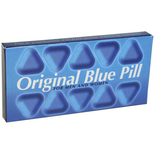 Original Blue Pill - Double Strength 200mg 10pk