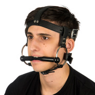 Slap Leather Pony Bit Gag Head Harness