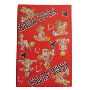 Red Karma Sutra Playing Cards