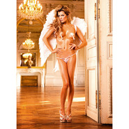 Baci Lace G-String with Bow