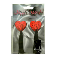 Love Heart Sequin Nipple Tassels