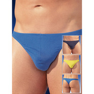 Three Pack of Men�s Cotton G-Strings