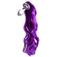 Kinky Tails Purple Pony Glass Butt Plug