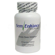 SemEnhance Semen Taste Enhancer 60s - 1 Month Supply