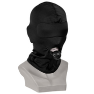 Spandex Hood With Vented Plastic Ball Gag
