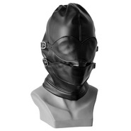Bondage Hood With Detachable Mask