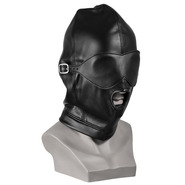 Bondage Hood With Detachable Eye Mask