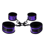 Perfectly Purple PVC Hog Tie Restraints