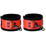 Ravishing Red PVC Handcuffs