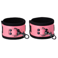 Pretty in Pink PVC Handcuffs