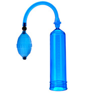 Largo Pleasure Penis Pump Blue