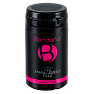 Bondara Essentials Sex Enhancement Pills for Men - 30 Pack
