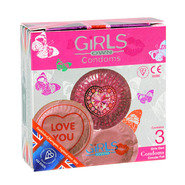 EXS Ladies Handbag Condoms 3pk