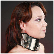 Steel And Leather Posture Collar