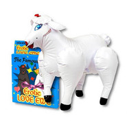 Love Ewe Inflatable Sheep Doll