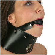 Ball Gag and Posture Collar
