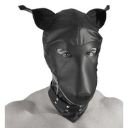 Fetish Bondage Dog Mask Hood