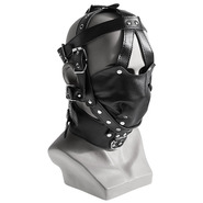 Leather Bondage Muzzle Mask