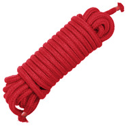 Sexy Soft Red Bondage Rope 10m
