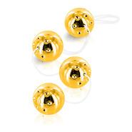 Gold Vibro Duo Balls