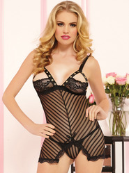 Seven Til Midnight Laced With Love Chemise