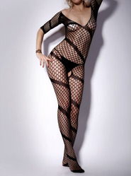 Tempting Eve Crotchless Body Stocking
