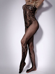 Floral Fantasy Full Length Bodystocking