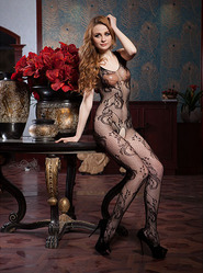 Tantalising Crotchless Bodystocking
