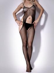 Exposed Sheer Suspender Bodystocking
