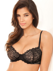 Bombshell Boudoir Pleasure Lace Bra