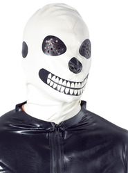 Latex Skeleton Mask