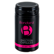Bondara Essentials Erection Capsules for Men - 30 Pack