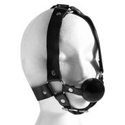 Bondage Ball Gag Head Harness