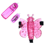 Butterfly Strap-On Clitoral Stimulator